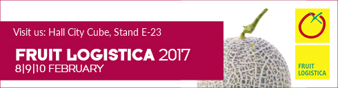 Visit as at FRUIT LOGISTICA 2017 - CityCube E-23